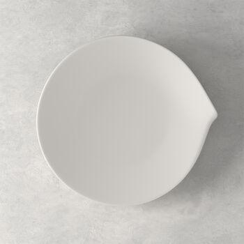 Flow mały talerz płaski 26 x 24 cm