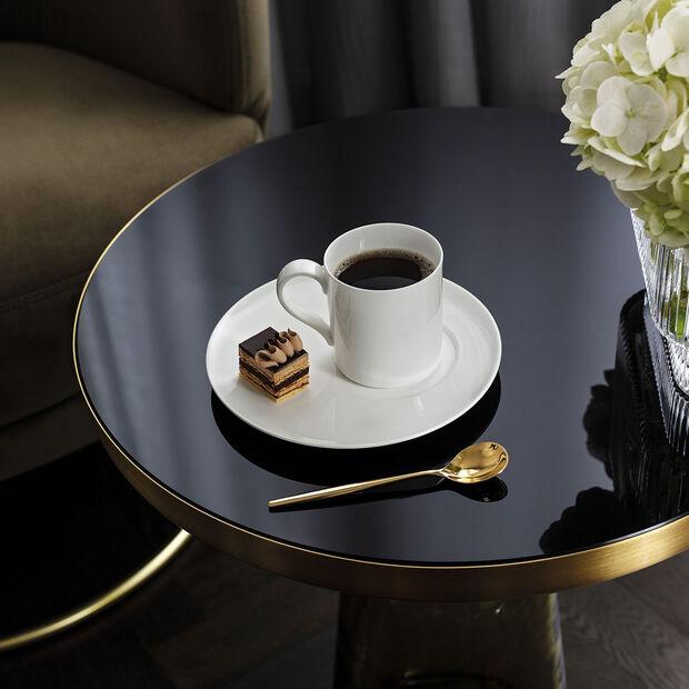 MetroChic blanc Spodek do filiżanki do kawy/herbaty, , large