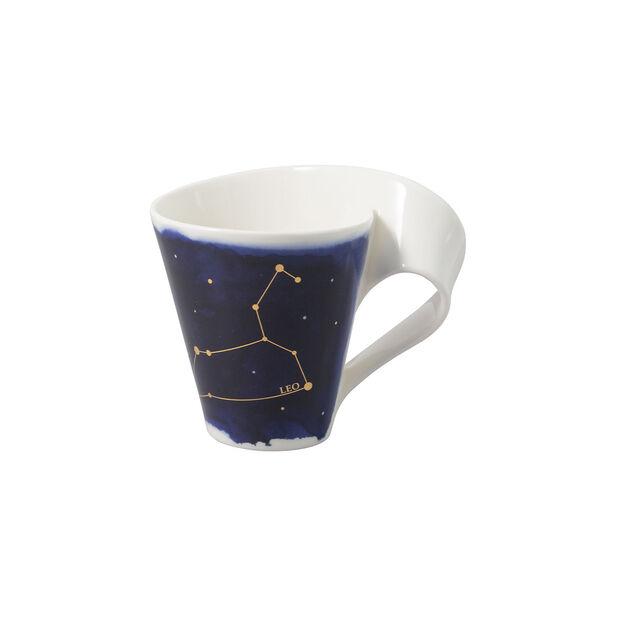 NewWave Stars kubek Lew, 300 ml, niebieski/biały, , large