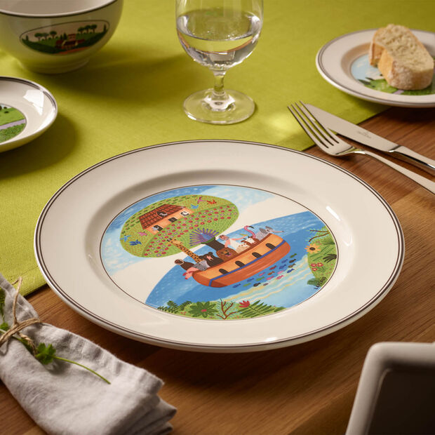 Design Naif talerz płaski Arka Noego, , large