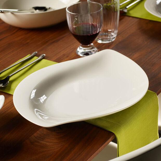 New Cottage Special Serve Salad miska płaska 34cm, , large