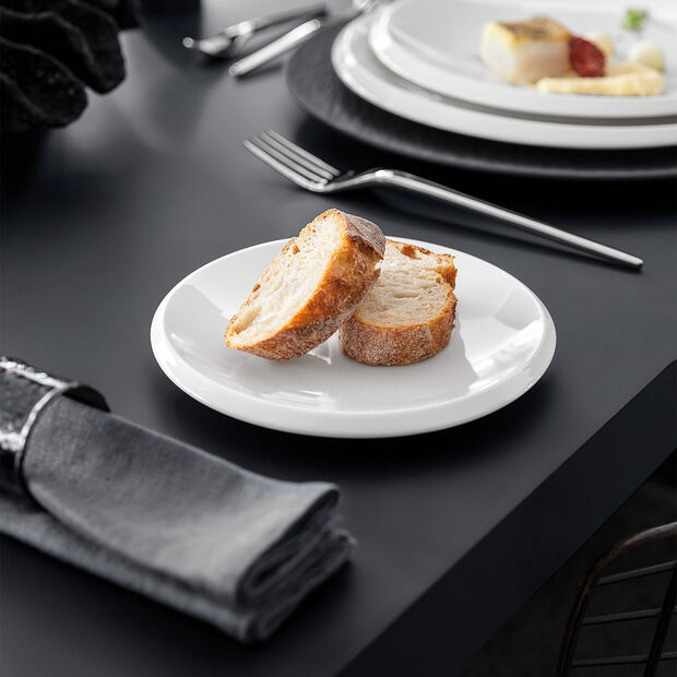 NewMoon talerzyk do pieczywa, 16 cm, biały, , large