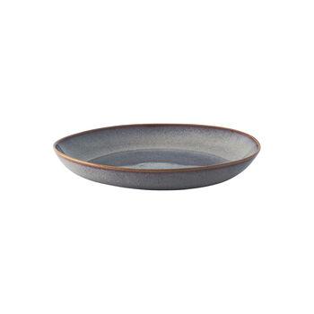 Lave Beige płaska miska, beżowa, 28 x 27 x 4,3 cm