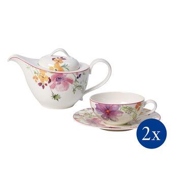 Mariefleur Tea Zestaw do herbaty, 5 el., dla 2 os.