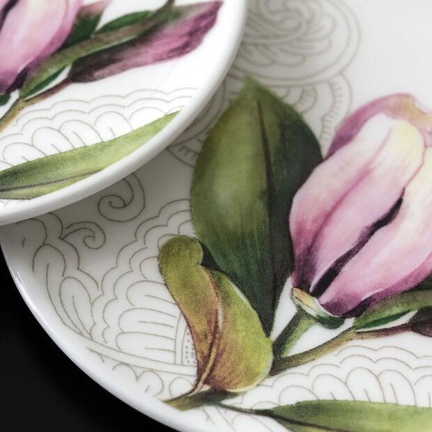 Quinsai Garden podstawka, średnica 11 cm, biała/kolorowa, , large