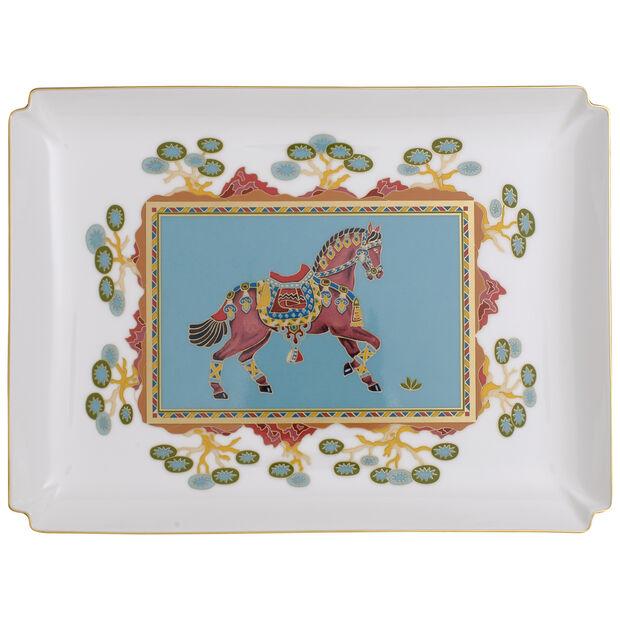 Samarkand Aquamarin Gifts duża miska dekoracyjna, , large