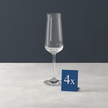 Ovid kieliszek do szampana zestaw 4 szt.
