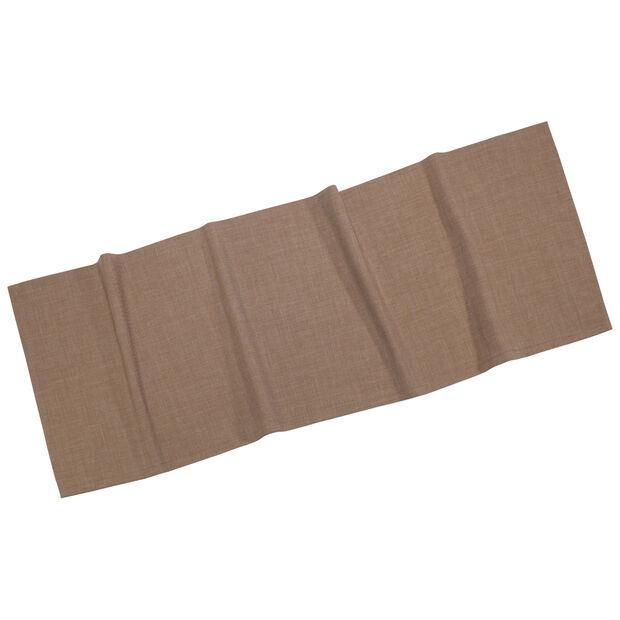 Textil Uni TREND bieżnik taupe 50x140cm, , large