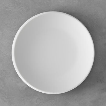 NewMoon talerz płaski, 27 cm, biały