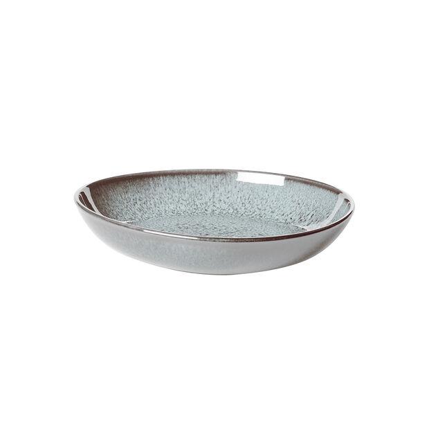 Lave Glacé mała płaska miska, turkusowa, 22 x 21 x 4,2 cm, , large