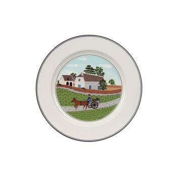 Design Naif talerz śniadaniowy rolnik