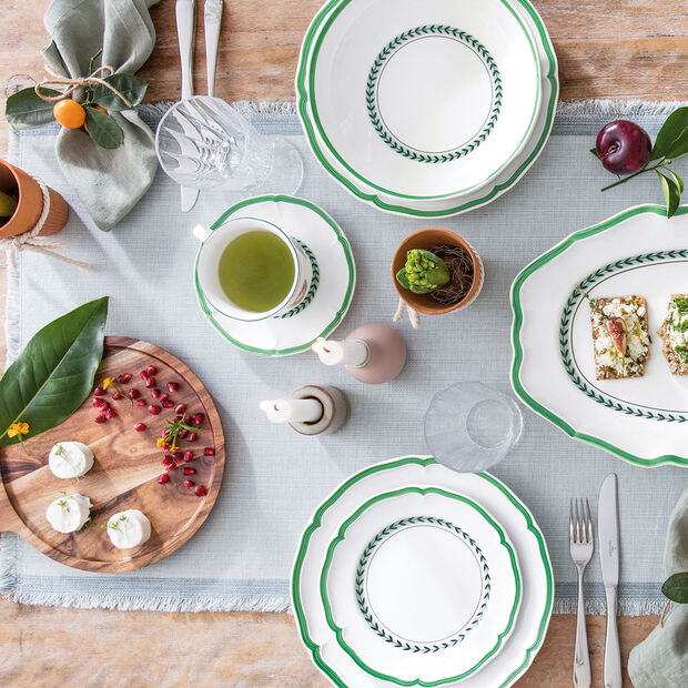 French Garden Green Line talerz śniadaniowy, , large