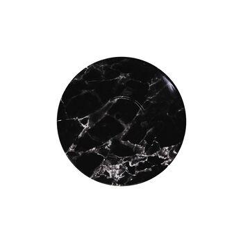 Marmory spodek do filiżanki do kawy Black, 16x16x2cm