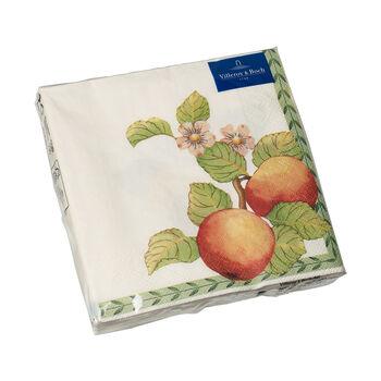 Papierowe serwetki French Garden Modern Fruits, 20 sztuk, 33x33cm