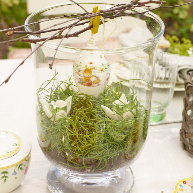 Mini Flower Bells porcelanowa zawieszka przebiśnieg zestaw 2 szt., , large