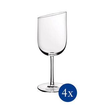 NewMoon zestaw kieliszków do białego wina, 300 ml, 4-częściowy