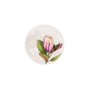 Quinsai Garden podstawka, średnica 11 cm, biała/kolorowa