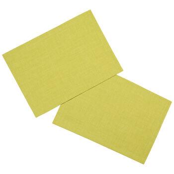 Textil Uni TREND podkładka limonka zestaw 2-częściowy 35x50cm
