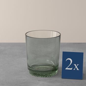 like by Villeroy & Boch it's my match zestaw szklanek do wody mineral, zielony, 9 x 10 cm, 2-częściowy