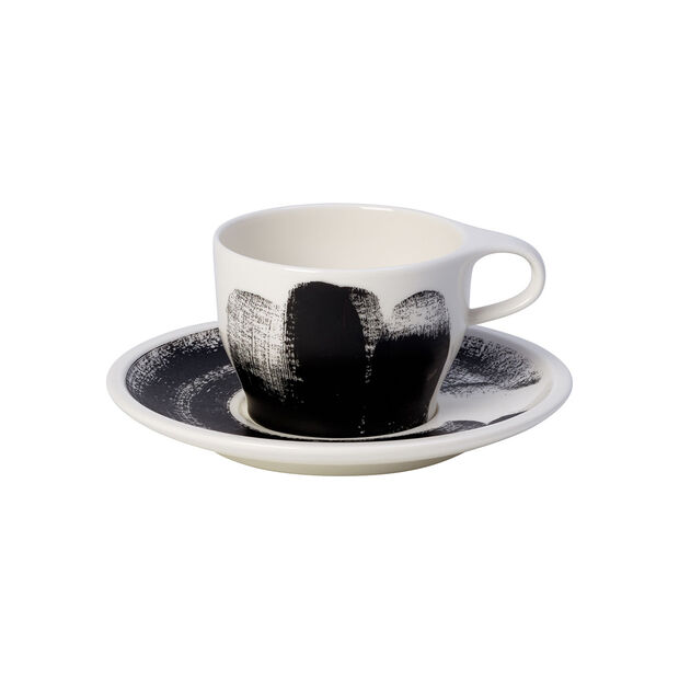 Coffee Passion Awake Filiżanka do cappuccino i spodek 2 cz., , large