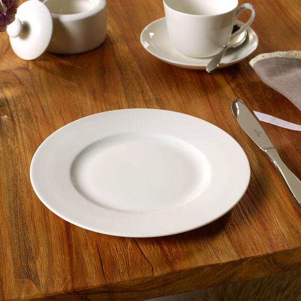 Twist White talerz płaski, , large
