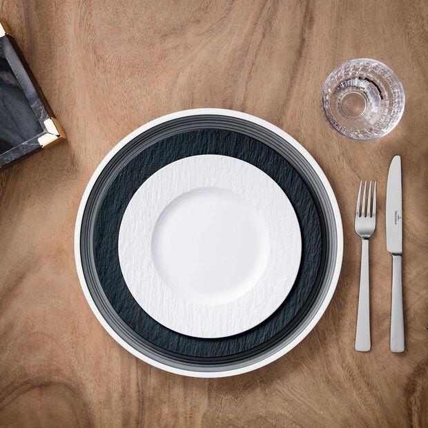 Manufacture Rock Blanc talerz śniadaniowy, , large