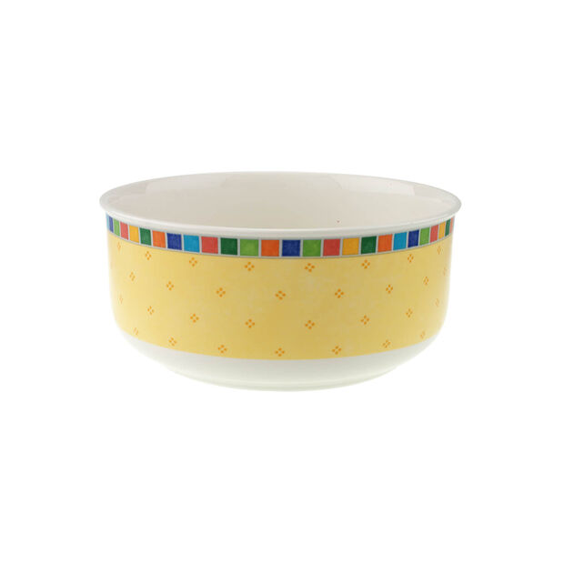 Twist Alea Limone okrągła miska na sałatę 23 cm, , large