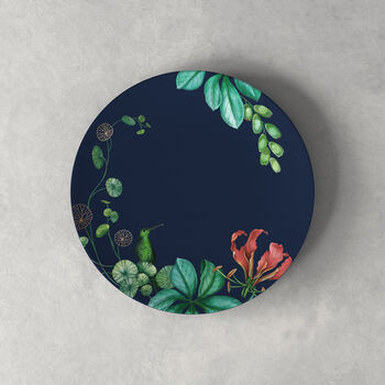 Avarua talerz deserowy/śniadaniowy, 22cm,niebieski/wielokolorowy