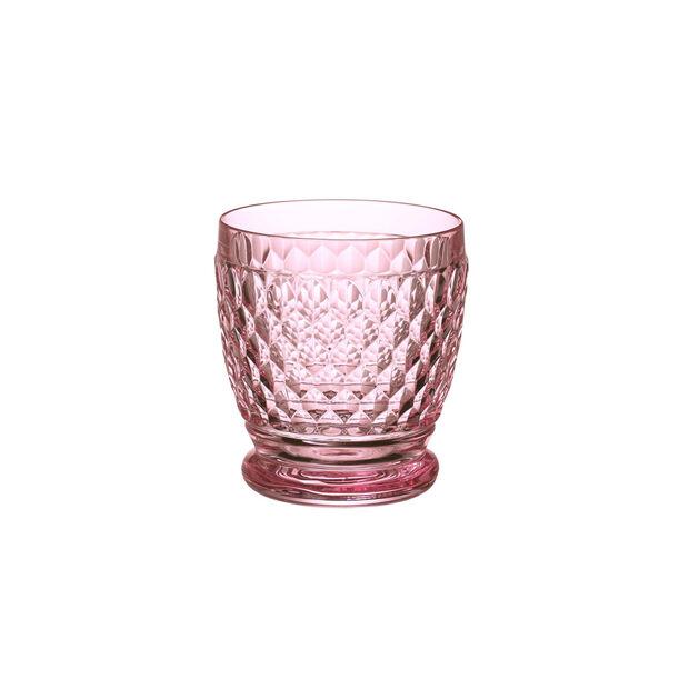 Boston Coloured Szklanka do wody/koktajli różowa, , large