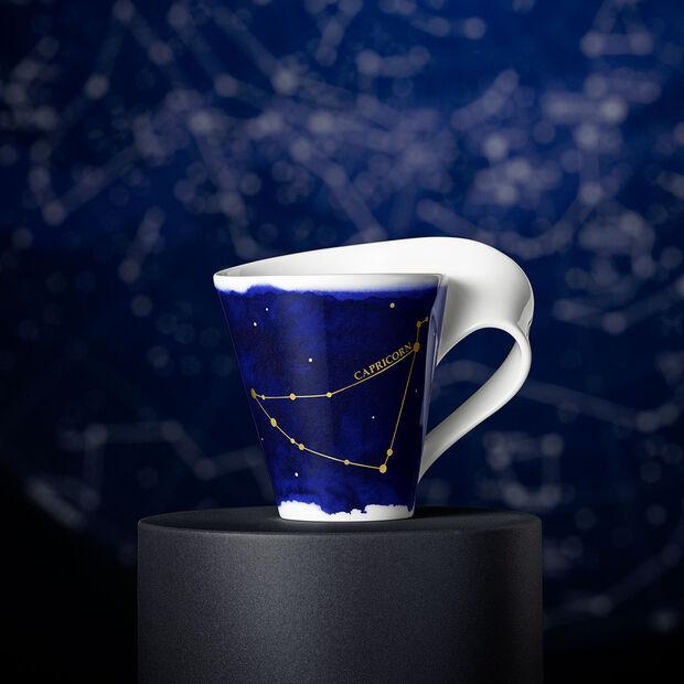 NewWave Stars kubek Koziorożec, 300 ml, niebieski/biały, , large