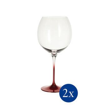 Allegorie Premium Rosewood kieliszek do wina Burgundia Grand Cru zestaw 2-częściowy 262mm