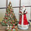 Christmas Toys Memory Santa 23x24x45cm, , large