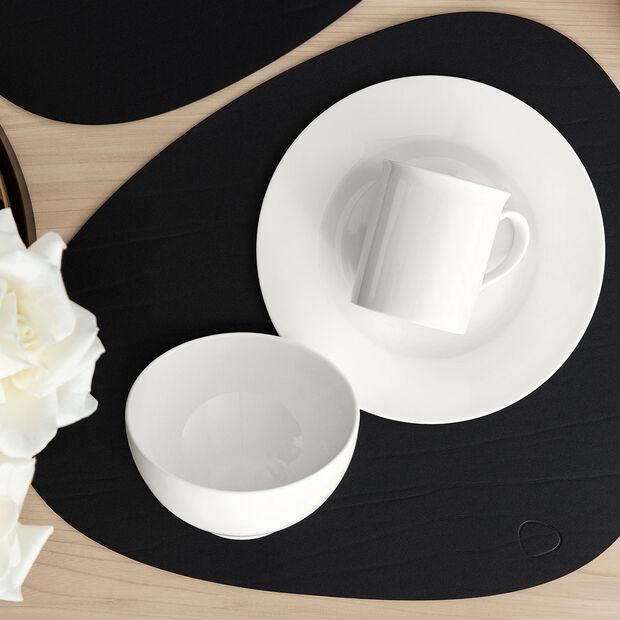 Twist White talerz śniadaniowy, , large