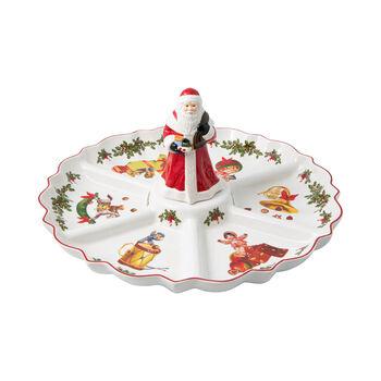 Toy's Fantasy talerz kabaret nostalgia, kolorowy/czerwony/biały, 38 x 38 x 19 cm