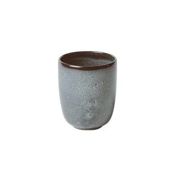 Lave Glacé kubek bez ucha, turkusowy, 9 x 9 x 10,5 cm, 400 ml