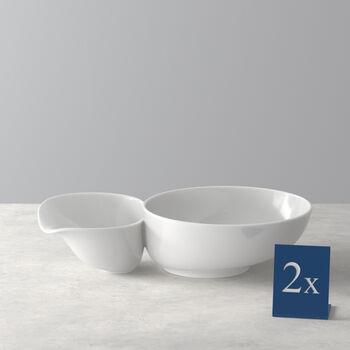 Soup Passion duża miska do zupy zestaw 2-częściowy