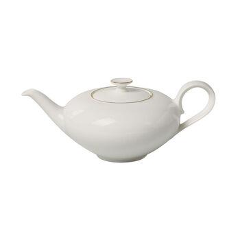 Anmut Gold dzbanek do herbaty, 1 l, biały/złoty