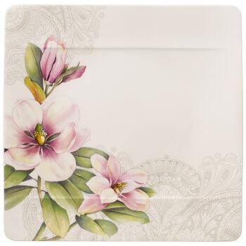 Quinsai Garden talerz płaski magnolia motyw D
