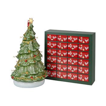 Christmas Toys Memory Kalendarz adwentowy 3D choinka 25x32x43cm