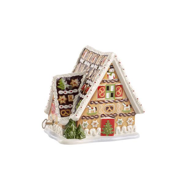 Christmas Toys domek z piernika z pozytywką, , large