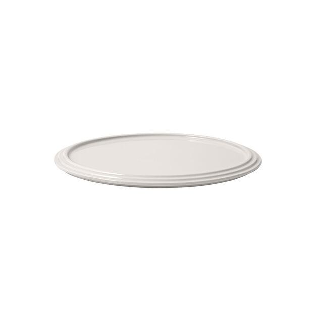 Iconic talerz do serwowania, biały, 24 x 1 cm, , large