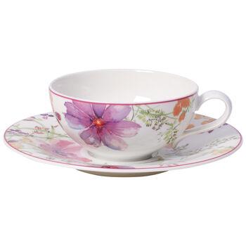 Mariefleur Tea Filiżanka do herbaty ze spodkiem 2 szt.