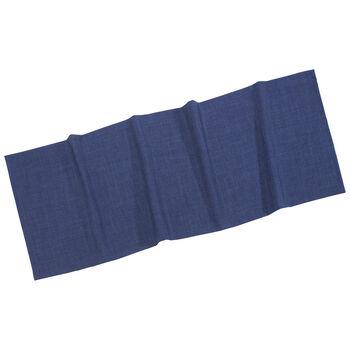 Textil Uni TREND bieżnik ciemno niebieski 50x140cm