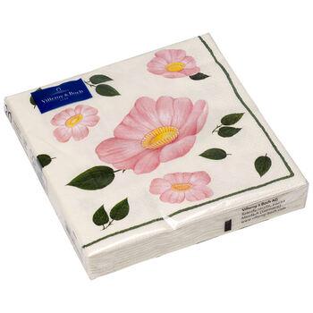 Papierowe serwetki Wild Rose new, 20 sztuk, 33x33cm