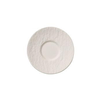 Manufacture Rock Blanc spodek do filiżanki do espresso, 12 cm