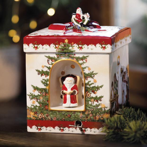 Christmas Toys Prezent duży czworokątny, 2021 16x16x21,5cm, , large