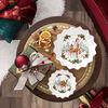 Toy's Fantasy duża miska Aniołek, kolorowa/czerwona/biała, 24 x 24 x 4,5 cm, , large