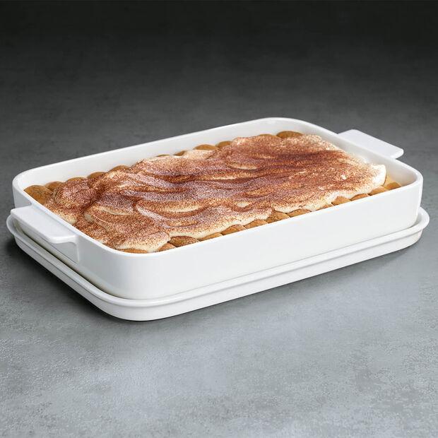 Clever Cooking Forma do pieczenia z pokrywką, prostok. 34x24cm, , large