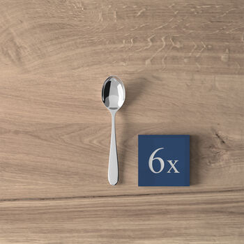 Oscar Łyżeczki do espresso, zestaw 6 szt. 20,5x13,5x3cm