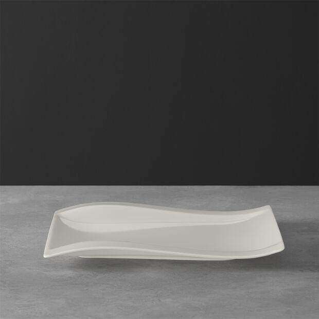 NewWave prostokątny talerz śniadaniowy 26 x 20 cm, , large